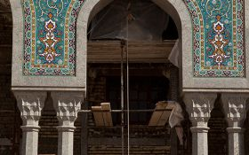 1000 years old mosque in Qom