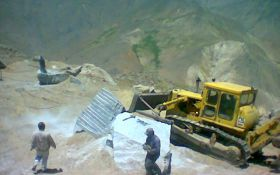 Alvand Grey Granite Quarry